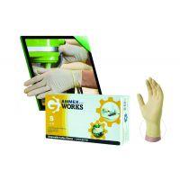 AMMEX爱马斯厂家一次性乳胶手套(经济型)