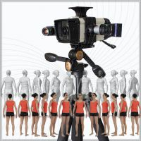 定制蓝光三维扫描仪 人体全是立体数字化成像仪 逆向设计专用