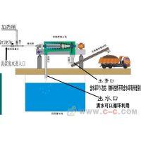 供应大型建筑工地泥浆处理设备泥浆脱水分离机