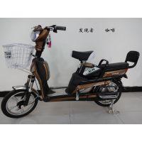 厂家直销  简易款电动车 16寸发现者电动自行车  帅气时尚电动车