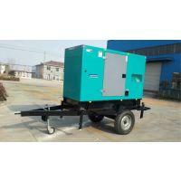 供应潞城市潍柴移动拖车柴油机发电机组