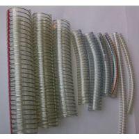 PVC钢丝增强软管 透明PVC增强软管