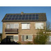 家用屋顶太阳能发电机组 英利光伏板250w