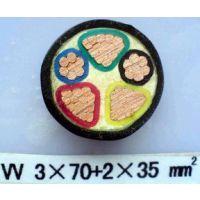 供应阳谷齐鲁低烟低卤交联聚烯烃绝缘阻燃电线 WDZ-BYJ 1*25