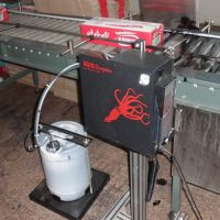 优惠供应励硕水泥包装袋生产日期喷码机抗粉尘耐用喷码机