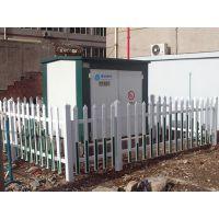 供应围墙护栏丨塑钢栅栏丨PVC草坪护栏丨变压器围栏厂家直销
