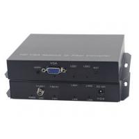 盛泰恒安高清vga光端机加1路音视频光端机VGA光纤延长传输器转换器