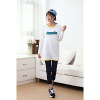 2015外贸大码女式T恤中长款 韩版打底衫