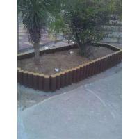 供应郑州天艺仿木树桩石路沿石,景观石、园林装饰石塑料模具