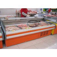 佳伯JB-XRG-A5鲜肉柜2.5米冷鲜肉柜保鲜柜定做3米长度敞开式开放式鲜肉保鲜柜
