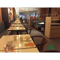 供应优质水晶大理石餐桌椅家具 西湖春天现代中式定制款餐桌批发中餐馆饭店桌椅 运达来
