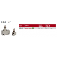 SMC速度控制阀AS2201F-01-10S现货