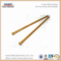 热流道系统专用阀针、阀套,阀针与阀套可滑配 SKH51材质镀钛型