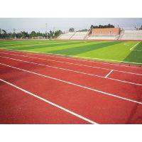 承接苏浙皖等地区中小学专用防滑EPDM塑胶跑道施工光滑且防滑、弹性十足