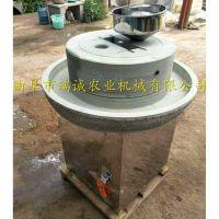 广东早餐专用电动石磨豆浆机 瑞诚自产自销电动石磨机