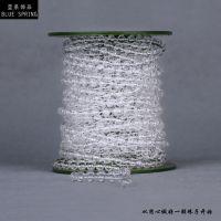 蓝泉饰品LX017婚庆用品节庆用品美陈装饰透明亚克力珠子棉线珠链
