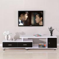 好亿佳 特价客厅家具视听柜伸缩电视柜钢化玻璃简约现代小户型