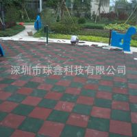 EPDM塑胶地垫 儿童弹性地面 幼儿园地胶 安全防滑胶垫