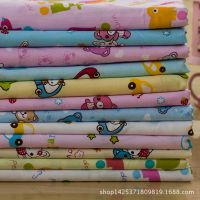 棉绸 夏季宝宝针织人造棉服装宝宝布料纯棉床品 卡通绵绸面料