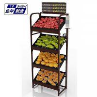 济南业神制造果蔬架厂家直销|烟酒架|款台小货架|超市果蔬架|迷你果蔬架|单面水果架|水果货架