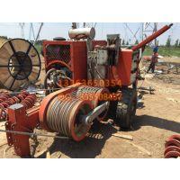 组塔放线施工专用 单轴两轮拖挂式液压牵引机 河北