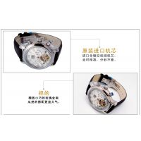 稳达时品牌 瑞士机芯不锈钢全自动机械手表 深圳高档礼品手表厂家代工定做