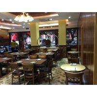 2016新款复古风餐桌 特色餐馆主题餐厅桌椅 可定制批发 运达来