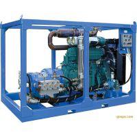 供应超高压1600公斤大流量清洗设备冷凝器换热器清洗设备高华