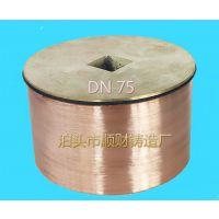 DN110全铜清扫口 顺财铸造
