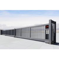 博华门业-电动平移门-直线门863