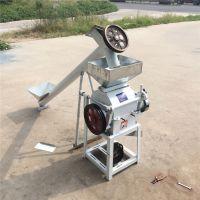 鼎信畅销花生专用破碎机 小型对辊式杂粮挤扁机 压辊颗粒破碎机