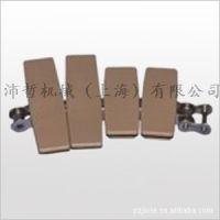 转弯链板 1873系列 扣链式钢基材质链板  链板式输送机设备配件
