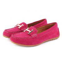 2014春款欧美品牌真皮平底妈妈鞋牛皮单鞋舒适女鞋工厂直销
