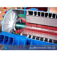 FZL-1000型离心式制冷压缩机模型u柱塞泵模型剖面结构