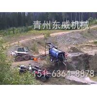 湖北鄂州老河床旱滩新型移动选金设备东威DW-GM100车载式滚筒选金机价格