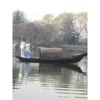 婚纱摄影拍照用乌篷船 仿古摄影木船 7米乌篷船