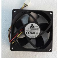 原装台达AFC0812DD 80*80*20MM 12V0.75A 4线PWM自动控速风扇现货
