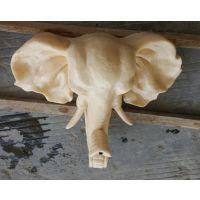 喷泉水景 园林小品 砂岩雕塑 流水大象头广州厂家定制