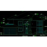实用三层美观独栋小洋楼设计图(含效果图)20.2x19.4米