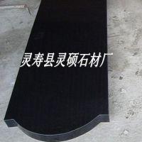 供应山西黑花岗岩墓碑 黑色墓碑厂家 灵硕石材