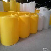 厂家供应上海500L塑料加药箱 0.5吨塑料搅拌罐
