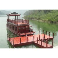 供应10-18米钢制画舫船 木质画舫船 景区游船 木船 观光船 定制