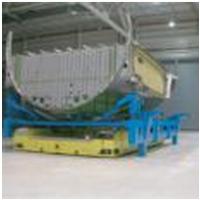 飞机牵引车配件商-上海同普专业做agv舵轮行走方案-意大利CFR品牌MRT系列电动堆高车