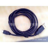 深圳 创伟 great品牌供应南山GPS车载线 miniUSB转USB公高层屏蔽数据线