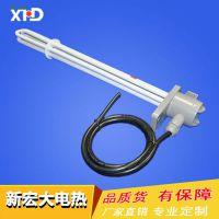 【新宏大电热】铁氟龙加热管 控温特氟龙耐腐蚀电热管 发热管380V/5kw 厂家直销