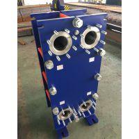 蒸汽 热水锅炉配套不锈钢可拆式板式热交换器