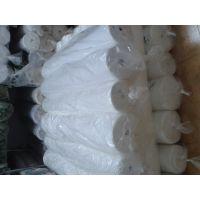 越帆2016新品种 8安涤棉白色帆布 拉力强250克加密72*40漂白帆布