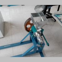 大米空心棒食品专用电动膨化机 振德机械