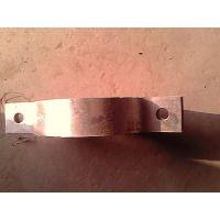 河北紧固件厂家现货供应优质100热镀锌抱箍  电线杆抱箍