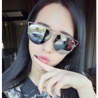 2015新款女士太阳眼镜d家女彩膜太阳镜男反光墨镜潮一件代发